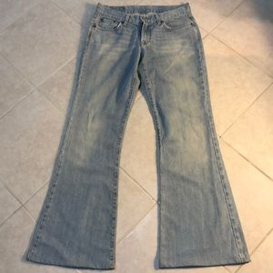 🍎Lucky Brand Sweet N Low Flare Jeans, 4
